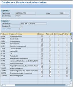 SAP BI Metadaten der Felder anpassen