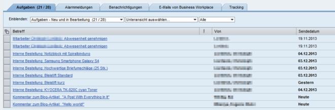 Universal Worklist vereinigt mehrere Systeme