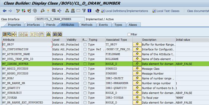 Pufferung bei Nummernkreisen ignorieren in SAP BOPF