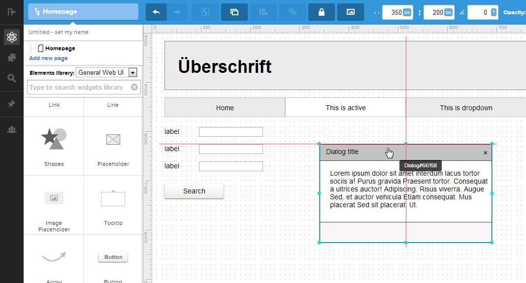 UI-Prototyping mit UXPin