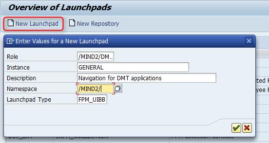 Ein Launchpad für eine FPM Navigation mit FBI