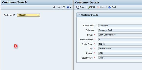 Kundendaten mittels ID anzeigen