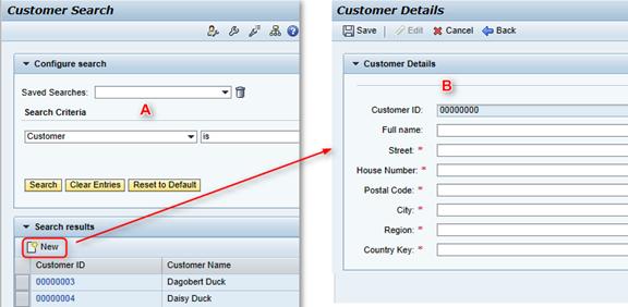 CHANGE_MODE=C während der Navigation von Anwendung A zu Anwendung B übergeben