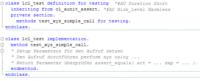 abap unit report template