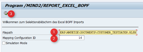 Datenmigration mit BOPF