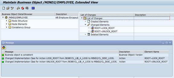 BOPF: Funktionalitäten in den Standard integrieren.