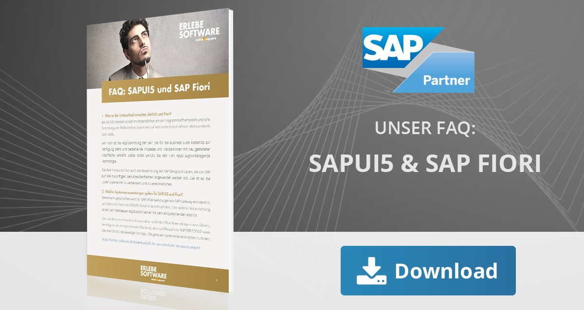 FAQ: SAPUI5 und SAP Fiori