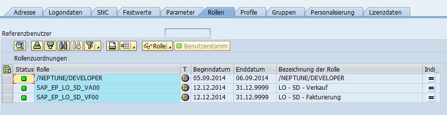 Prozessorientierte Navigation im SAP NWBC.