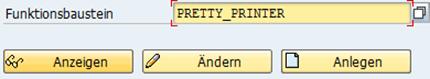 Pretty Printer als Funktionsbaustein
