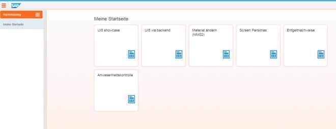 Fiori Launchpad Portal