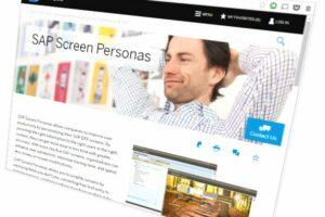 SAP GUI 7.4 in Blue Crystal Farben