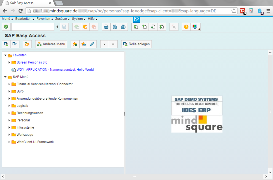 SAP Screen Personas Editor