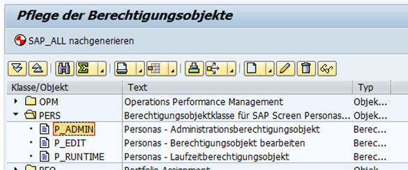 berechtigungsobjekte sap screen personas 3.0