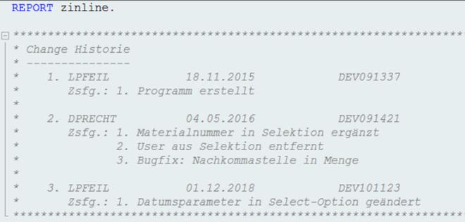 Inline-Versionierung: Erweiterte Änderungshistorie