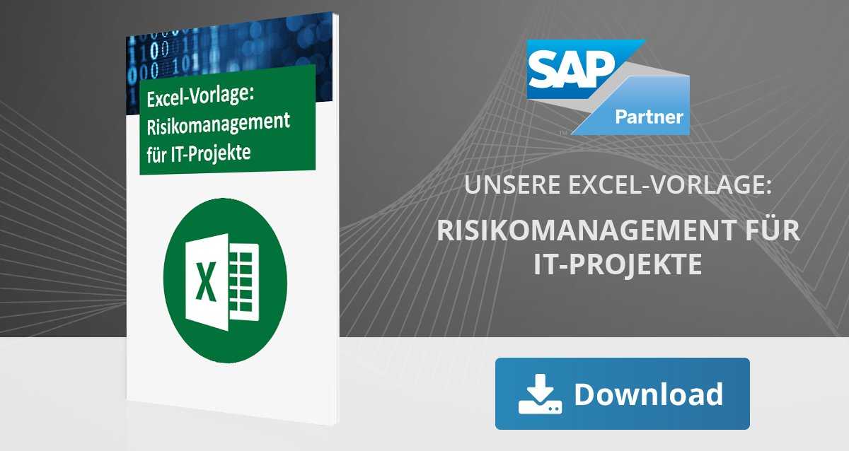Risikomanagement Excel-Vorlage für IT-Projekte
