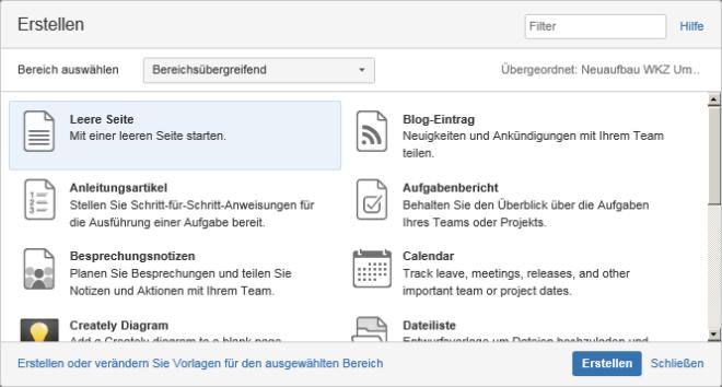 Projektmanagement mit dem Confluence Wiki