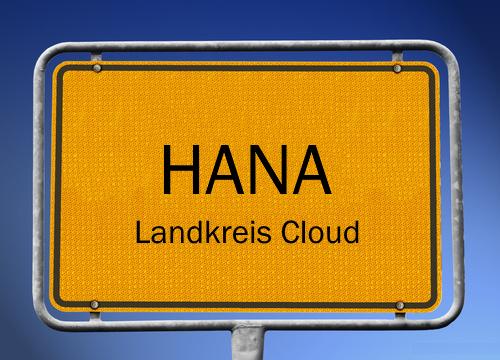 HANA Landkreis Cloud