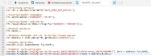SAP Screen Personas Script Editor