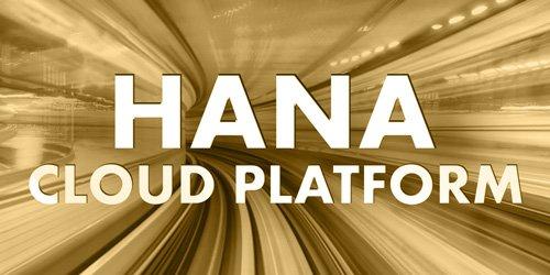 SAP HANA Cloud Platform Kategorie