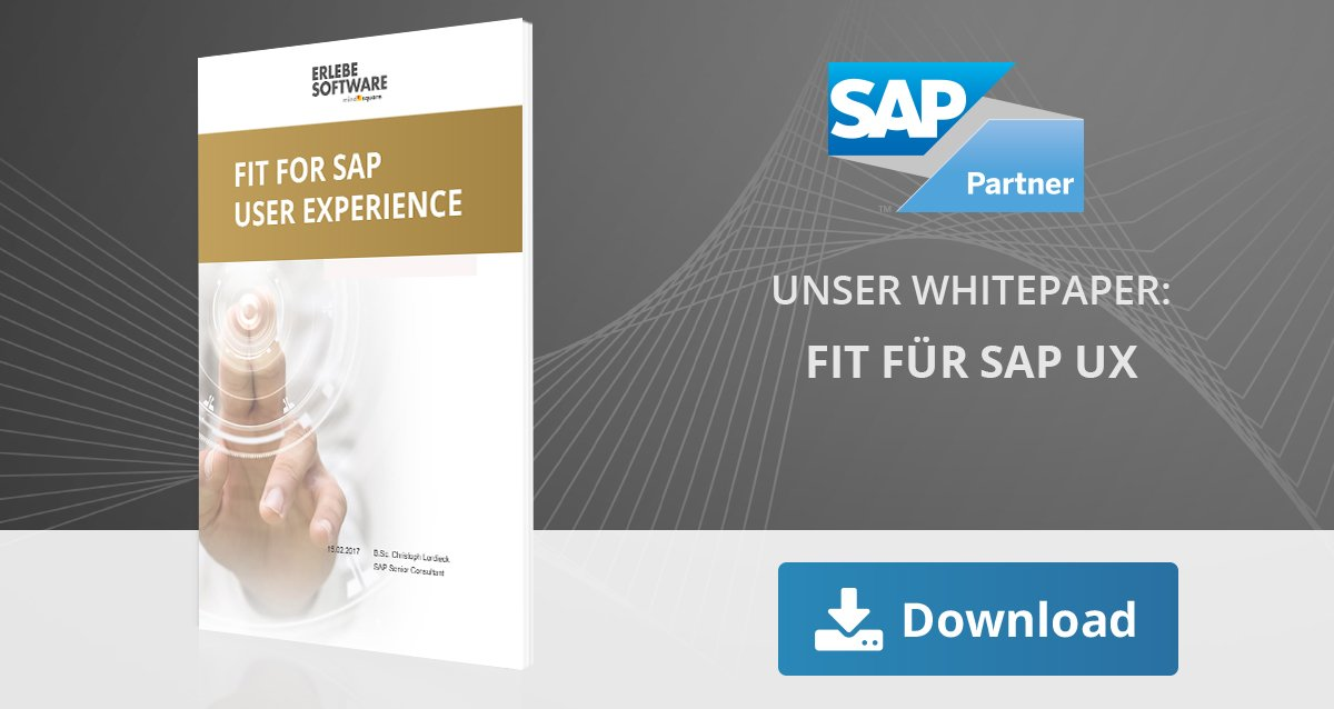 Fit for SAP UX