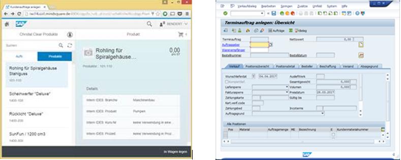 SAP Fiori versus SAP GUI