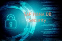 HANA DB Sicherheitskonfiguration