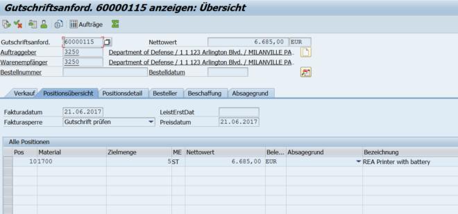 SAP GWM Excel Add-in