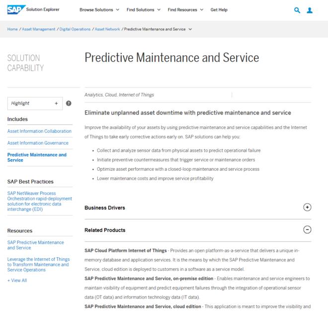 Abbildung 2: End-to-End Prozesse im Solution Explorer (Quelle:SAP SE)