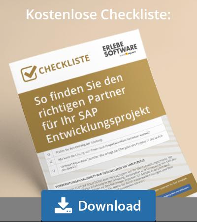 Übersicht SAP Tabellen