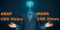 ABAP CDS Views und HANA CDS Views