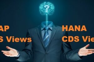 ABAP CDS Views und HANA CDS Views
