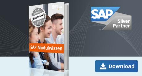 Unser E-Book zu den besten Blogbeiträge zu SAP Modulwissen