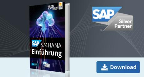 Unser E-Book zum Thema SAP S/4HANA Einführung