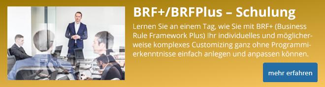 Schulung BRFplus